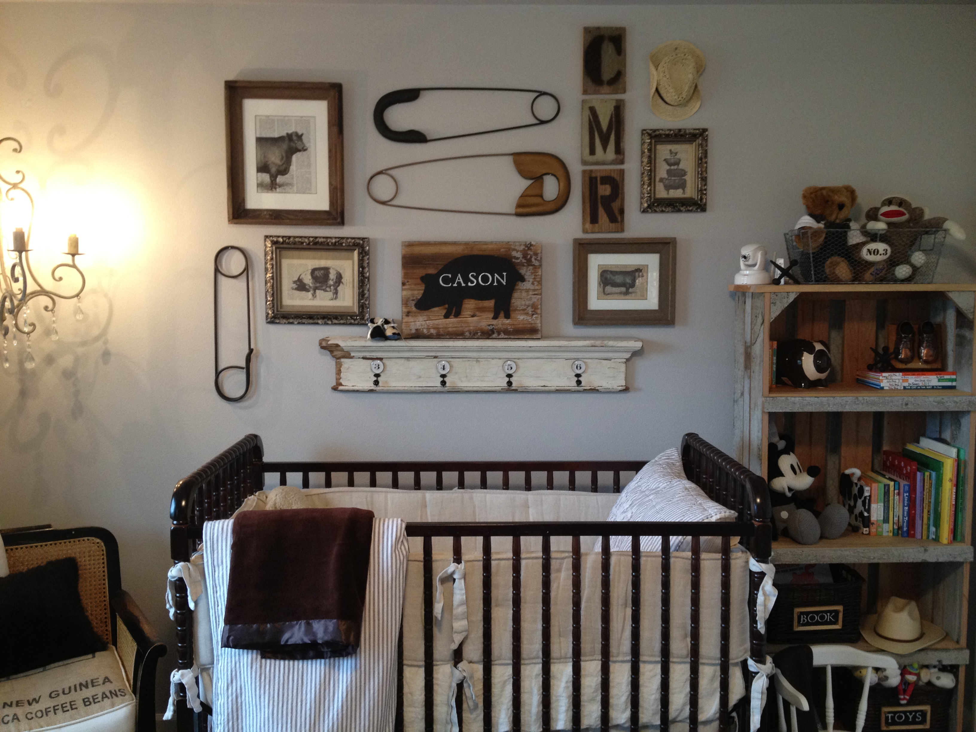 Vintage Farm Animal Nursery Savvy Ranch Living