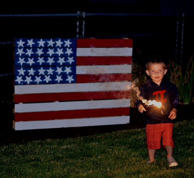 Fourth of July 2014 Sparklers